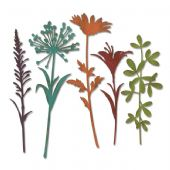Sizzix Tim Holtz - Thinlits Die Set 5pk - Wildflower Stems #2 - 664164